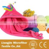 hair towel hair drying cap patterned clothing fabric