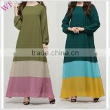 OEM Arabic Maxi Long Sleeve Dress
