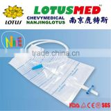 2000ml Disposable Medical Disposable Luxury Urine Bag