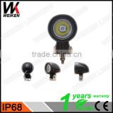 WEIKEN new products 10w led work light 12v tractor light for 4WD/ATV/SUV Marine lights
