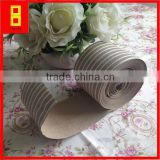 PE crepe kraft paper/strip kraft paper 200 gr// crepe paper curling machine/steel wire packing /woven paper