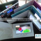 "Top Factory Custom Printed Book with Lcd Screen (2.4"" to 10.1"") Video Brochure Card"