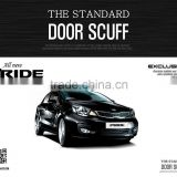 [DXSOAUTO] KIA All New Pride / Rio - The Standard AL Door Sill Scuff Plates Set(no.6593)