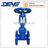 BS5163 Ductile Iron Rising Stem OS&Y Gate Valves with Resilient Seated PN10 PN16 Oil Water Gas