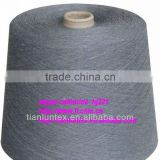 natural bamboo charcoal/cotton combed blended yarn
