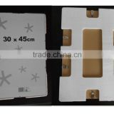 wholesale frameless glass picture frame metal clip frame in 4x6 5x7 6x8 8x10