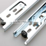 Top quality ball bearing slide side mounting type telescopic drawer channel                                                                         Quality Choice