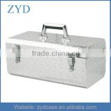 Diamond Pattern Alum Plate Material and Box, Case Type Aluminium Truck Tool Box ZYD-HZMsc010