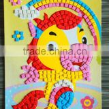 EVA glitter sticker DIY Handmade diamond sticker adhesive paper EVA cartoon toys creative crystal mosaic