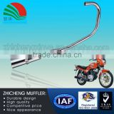 Stainless Steel High Polished China Motorcycle Muffler in Motorcycle Body Parts QJ-125CC