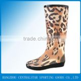 Nylon upper Leopard women casual shoes wholesale SS-041