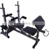 Commercial gym equipment/fitness equipment free weight olympic incline bench