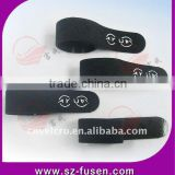 Hot nylon magic hook and loop cable tie tag