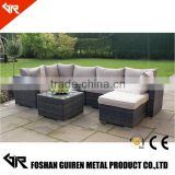 poly rattan outdoor patio sofa furniture used in rattan garden furniture set                                                                         Quality Choice
