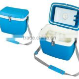 Plastic trolley cooler box made in China GM101
