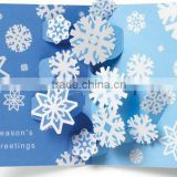 Professional supply of handmade Christmas cards,exquisite greeting cards printing