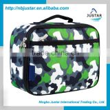 The Best Design Promotional Kids Camo Lunchbox Thermal Lunch Box Cooler Bags