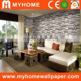 Brick design interior decoration 3d wallpaper for bedroom