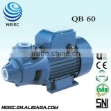 garden use QB-60 vortex electric centrifugal water pump 0.5HP QB60 for auto pressure control water pump