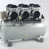 8bar silent piston reciprocating portable oil-less oil free airbrush electric AC mini compressor pump