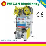 hot sale manual and full automatic plastic cup lid sealing machine for paper cup lid punching