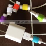 Hot selling cellphone cord protector , earphone cable protector , mobile phone data cable silicone protector