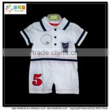 BKD italy design baby clothing baby polo romper