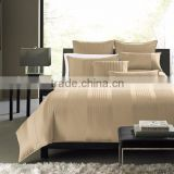 2015 Factory Sale luxury machine quilted brocade silk hotel bedspreads,bedding set Made In China