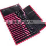 16pcs Makeup Brushes Kit Professional Cosmetic Make Up Set Pouch Bag Case