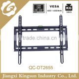 Hot sell universal -15 degree tilting tv wall mount with bubble level design suit size 26 to 55 inch.