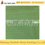 knitting polyester mesh fabric for sports shoes & garments