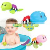 educational baby bath turtle floating toys/custom sea animal bath toys for babies/oem plastic bath toys manufacturer