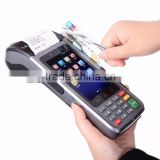 Android handheld POS with laser scanner/printer/bluetooth/NFC/RFID/SIM card/wifi/wireless