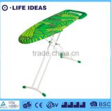 Tropical rainforest leaves print cotton ironing board cover fireproof