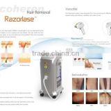 Diode Laser permanent hair removal machine Germany bars depilazione medical laser system