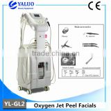 Jet Clear Facial Machine Cleaning Skin YL-GL2 Water Oxygen Jet Peel Water Oxygen Anti Improve Allergic Skin Aging Machine Spray Beauty Machine For Skin Whitening Improve Allergic Skin