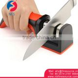 Knife Sharpener Steel 2 Stage Professional Ceramic Diamond KME Kitchen Knife Sharpener