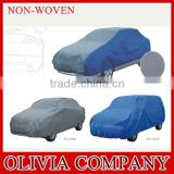 Blue coated newly uv hail sun protection covers for cars plastic car cover