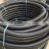 HDPE flexible carbon corrugated pipe for conduit electrical tube