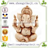 2015 chinese factory custom made handmade carved hot new products resin white elephant statues