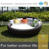 rattan wicker beach chaise chair sunbed outdoor furniture