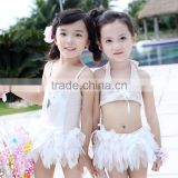 Wholesale Clothing Kids Girls New Model Dress Swimsuits For Kids