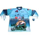 Custom Long Sleeve Performance Fishing Shirts Wholesale