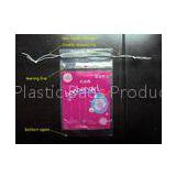 LDPE Clear Plastic Bags With Drawstring For Cotton Swab / Q - tips