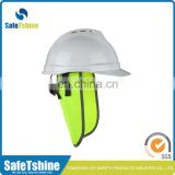 Chinese factory cheap safety hat cooling sunshield