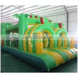 43ft inflatable obstacle course,Jungle obstacle course bounce house