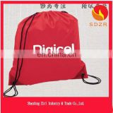 Drawstring non-woven laundry bag for hotel