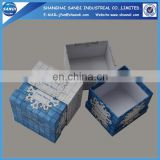 Full color printed custom cardboard packaging box