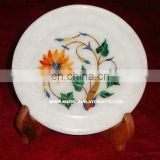Inlay Marble Decoration Marble Inlay Plate