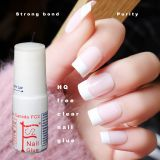 3g clear HQ Free(below 200ppm)Nail glue cyanoacrylate nail art for stick fake/artificialnail